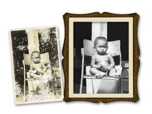 แต่งภาพขาดแหว่ง Photo Restoration